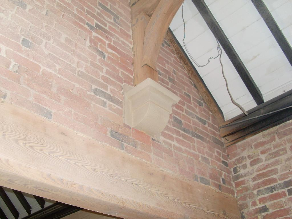 Beams and Brickwork Cleaned - After